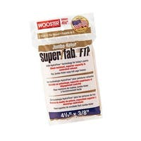 """Wooster RR941-4-1/2 Super/Fab Ftp Roller Cover, 3/8"""", 4-1/2"""""""
