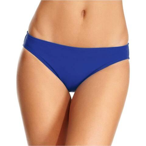 Michael Kors Villa Del Mar Classic Bikini Bottom Small S Azurite Womens Swimsuit
