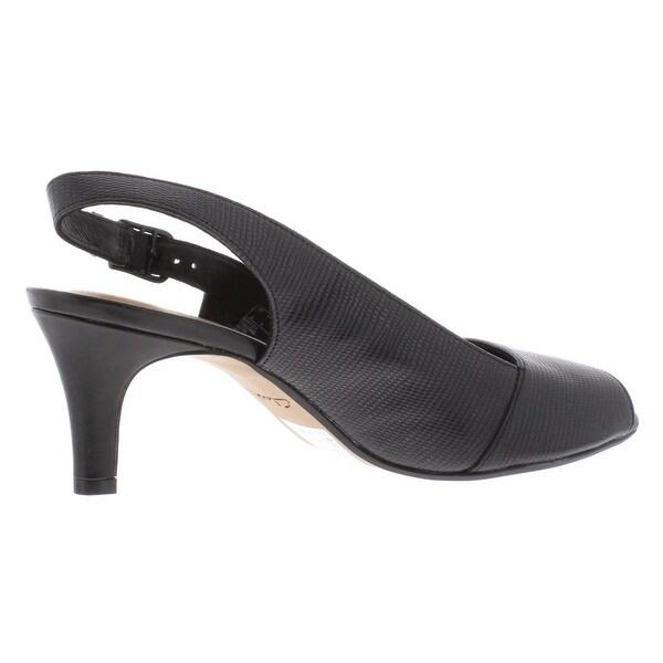 Shop Clarks Womens Heavenly Leah Slingback Heels Faux