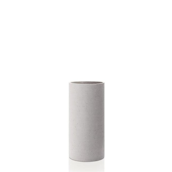 Blomus 65597 Polystone Vase Light Gray - Large