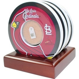 St. Louis Cardinals Coasters w/ Game Used Dirt ()