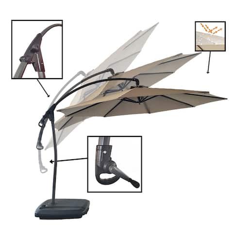 11FT Cantilevr Umbrella