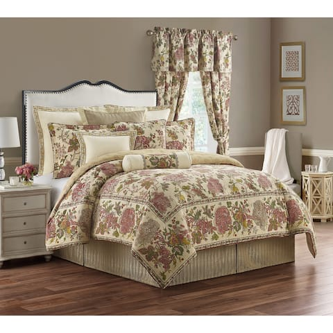 Amalia 4-piece Floral Cotton Comforter Set