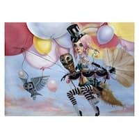 ''Balloons'' by Leslie Ditto Fantasy Art Print (14 x 20 in.)