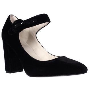 Marc Fisher Shaylie Mary Jane Heels - Black