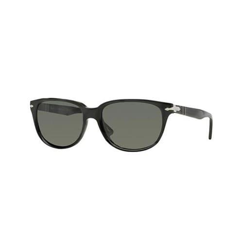 Persol PO3104S 54 901458 Sunglasses Round Black Frames Polarized ...