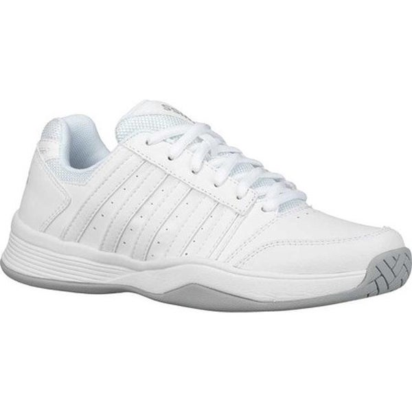Shop K Swiss Women's Court Smash Sneaker WhiteWhite Free