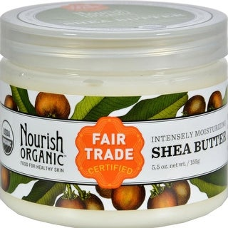Nourish - Organic Raw Shea Butter Intensive Moisturizer ( 2 - 5.5 OZ)