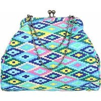 Amy Butler Women's Nora Clutch With Chain Celestial Weave Sky - us women's one size (size none)