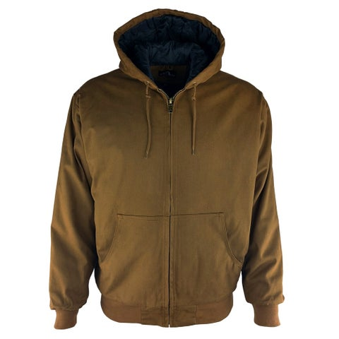 American Outback Canvas Bomber Jacket