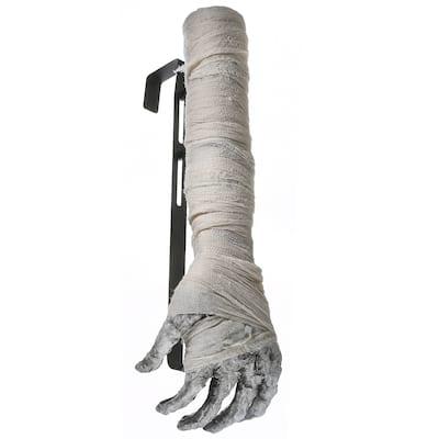 """18"""" Mummy Hand Wreath Hanger"""