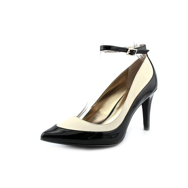 Alfani Ainslee Women Pointed Toe Synthetic Black Heels