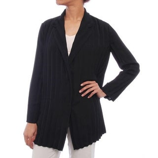 Piazza Sempione G309 Long Sleeve Collared Button Down Cardigan Women Regular