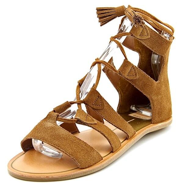 Dolce Vita Valli Women Open Toe Suede Gladiator Sandal