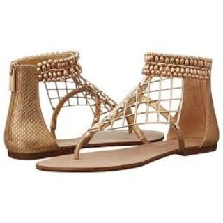 Jessica Simpson Kyla Flat Sandals - Silver