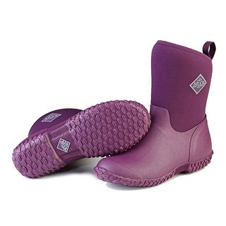 Muck Boots Purple/Floral Women's Muckster II Mid Boot - Size 7
