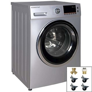 edgestar 24 inch wide 20 cu ft front loading electric washer dryer