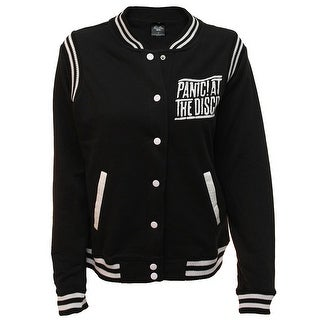 Panic At The Disco Junior's Button Up Varsity Jacket (Option: 3x)