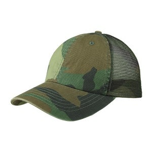 2de5a929c5210 Shop Enzyme Washed Camouflage Mesh Cap - Free Shipping On Orders Over  45 -  Overstock - 20668943