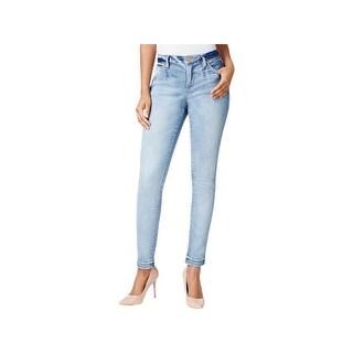 Jag Jeans Womens Sheridan Skinny Jeans Denim Mid Rise