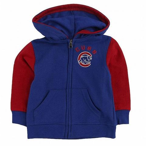 Genuine Merchandise Boy's Sweater Blue Size 12 Months Cubs Full-Zip