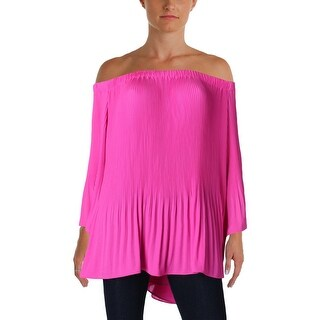 Vince Camuto Womens Blouse Chiffon Pleated