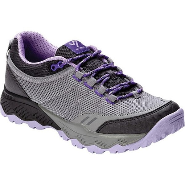 Top Hiking Boot Grey/Lavender Textile