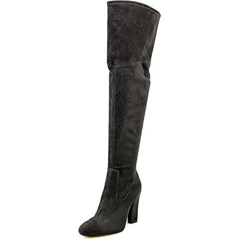 Ivanka Trump Womens Sarena Pointed Toe Over Knee Fashion Boots