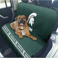 Pets First Collegiate Michigan State Spartans Pet Car Seat Cover