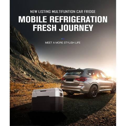 TiramisuBest Car Fridge Portable Freezer Cooler for Outdoor campaign