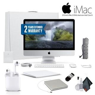 Apple iMac 21.5 Inch Desktop Computer, 2.3GHz Core i5, Starter Bundle professional bundle