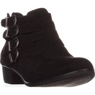 AR35 Darie Strappy Ankle Boots, Black