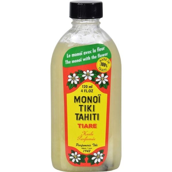 Monoi Tiare Tahiti Monoi Tiiki Tahiti Coconut Oil - 4 fl oz - 3 Pack