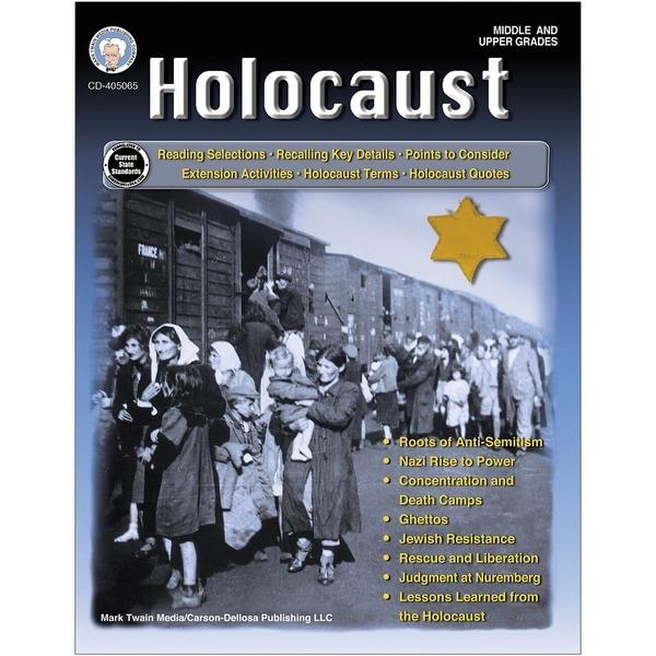 Holocaust Workbook, Grades 6-12. Opens flyout.