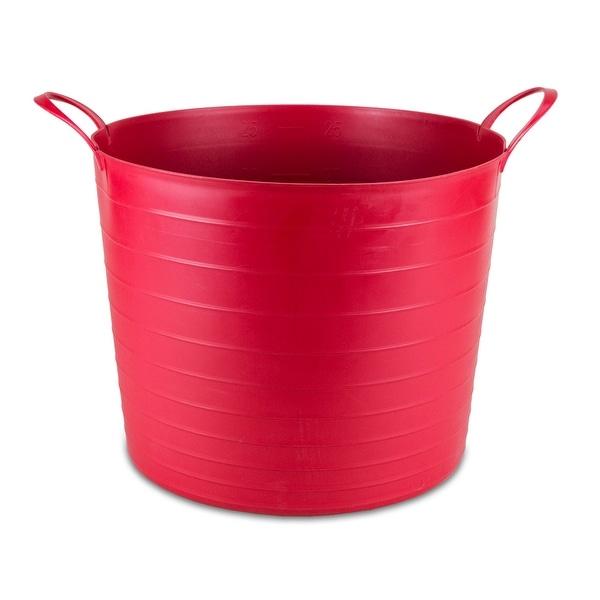 Keter Multi-Purpose Flexible Tub Tote 27-liters Red