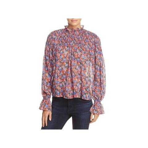 Rebecca Taylor Womens Blouse Silk Floral - 8