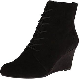 Easy Spirit Women's Hasha Black Suede Boot