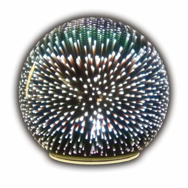 Shop Mercury Glass Starburst Accent Light Led Lighted