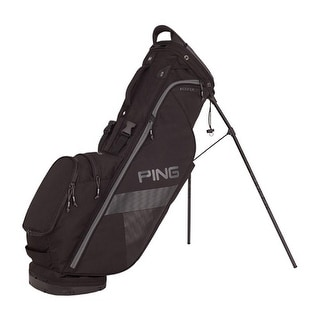 New Ping 2018 Hoofer Lite Golf Stand Bag (Black) - Black
