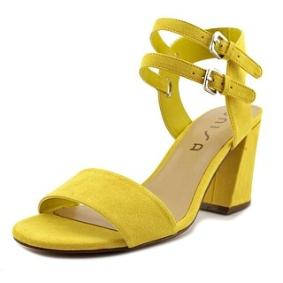 Unisa Reiaa Women  Open-Toe Canvas Yellow Heels