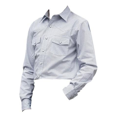 Cinch Western Shirt Boys Long Sleeve Button Plain Weave - Multi-Color
