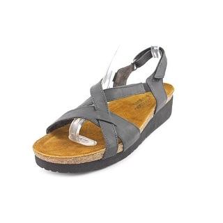 Naot Bernice Women Open-Toe Leather Slingback Sandal