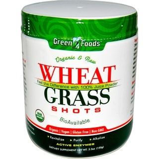 Green Foods Wheat Grass Shots 5.3-ounce