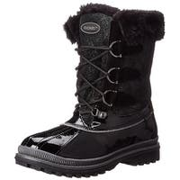 Khombu Free Cold Weather Lace Up Boot Black