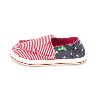 Sanuk Kids Boys patriot kid Slip On Moccasins