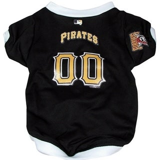 Pittsburgh Pirates Dog Jersey - Small