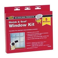 M-D Building Products Shrink&Seal 5-Window Kit 04200 Unit: EACH