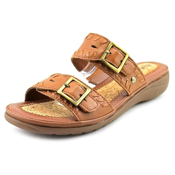 Hush Puppies Rebecca Keaton N/S Open Toe Leather Slides Sandal