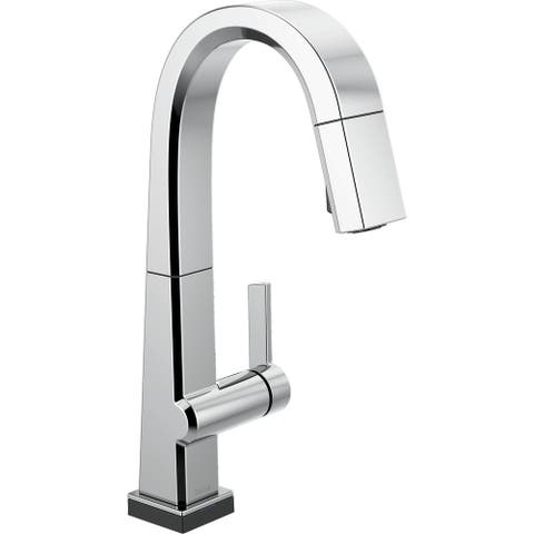 Delta 9993T-DST Pivotal 1.8 GPM Single Hole Pull Down Bar Faucet with