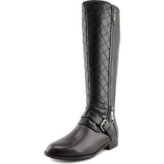 Marc Fisher Joanna Women Round Toe Leather Knee High Boot